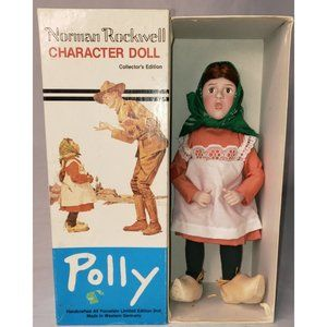 Norman Rockwell vintage polly doll